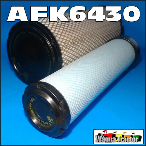 Wagga Tractor parts - AFK6430 Air Filter Element Kit New