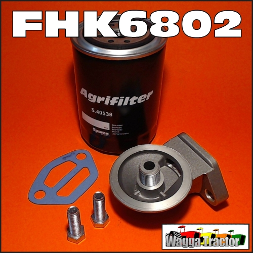 wagga tractor parts fhk spin  oil filter kit massey ferguson mf   tractor