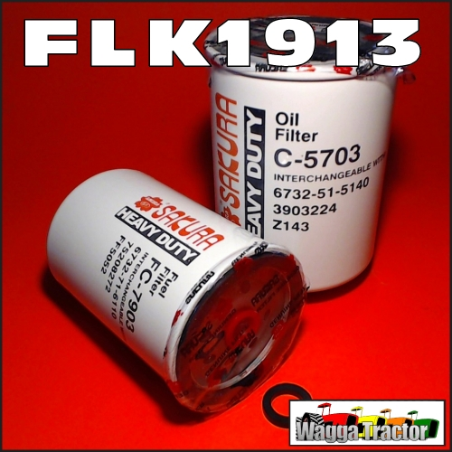 Wagga Tractor Parts Flk1913 Oil Fuel Filter Kit Case Ih 5120 5220 Rhwaggatractorparts: Case Backhoe Fuel Filter At Gmaili.net