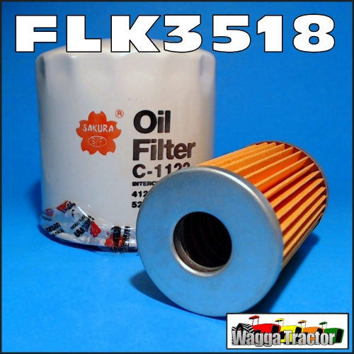 Wagga Tractor parts - FLK3518 Oil Fuel Filter Kit Ford 2110 1920