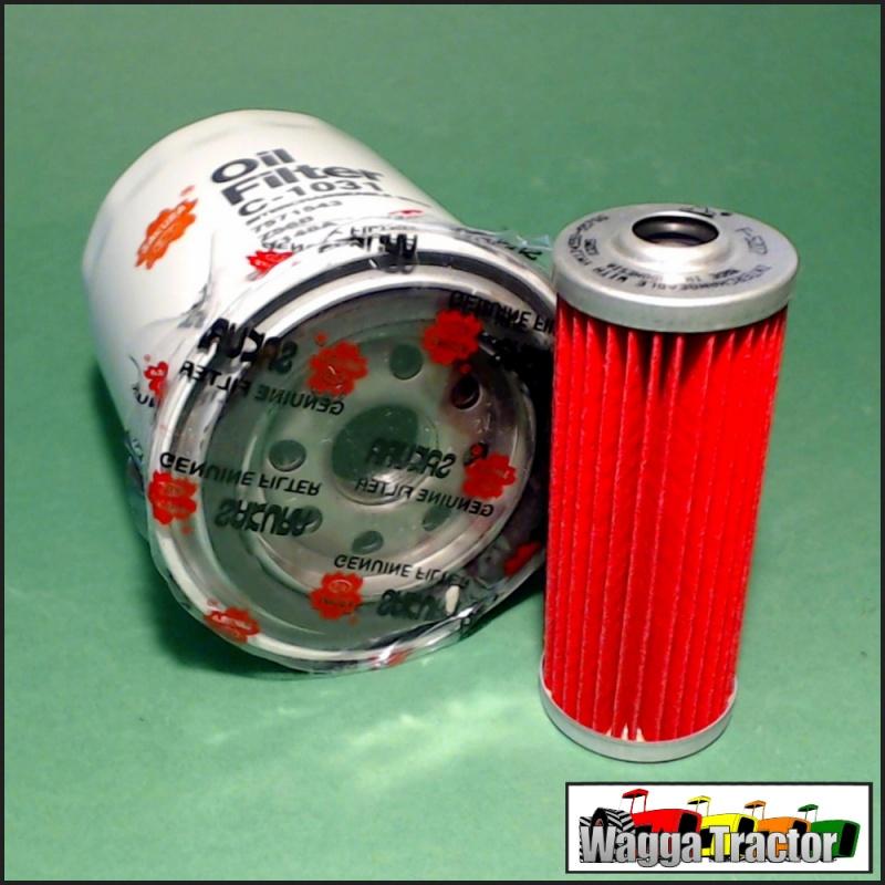 FLK5218 Oil Fuel Filter Kit Kubota