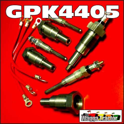 Wagga Tractor parts - GPK4405 Glow Plug Kit International ... on