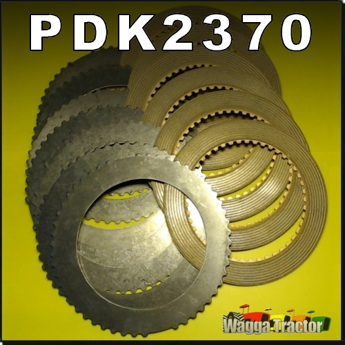 Wagga Tractor parts - PDK2370 PTO Shaft Clutch Disc Kit