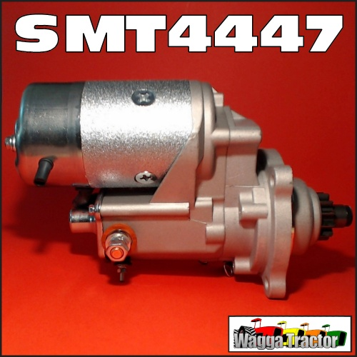 Wagga Tractor parts - SMT4447 Starter Motor International IH